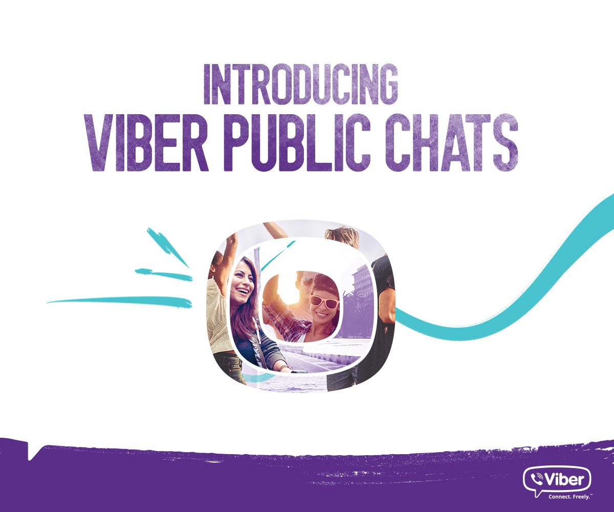 Public Chat в Viber