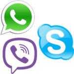 Viber Skype или Whatsapp — обзор и сравнение мессенджеров
