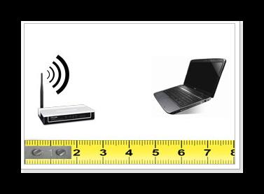 Уменьшить расстояние до источника Wi-Fi